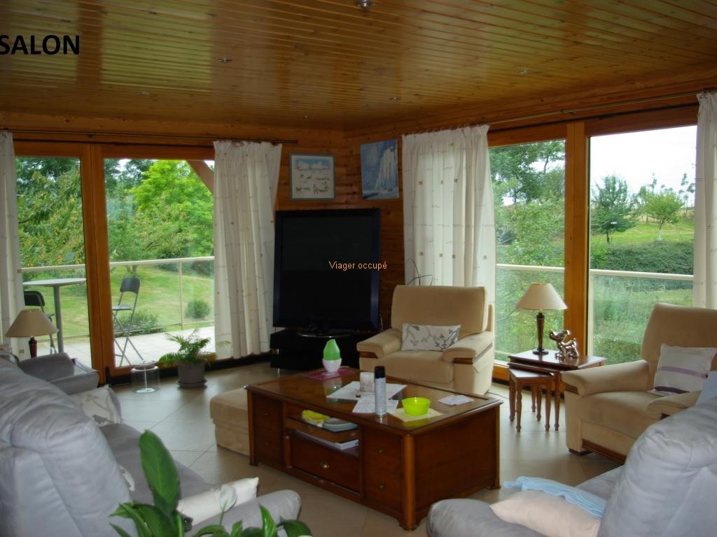 Angle salon - viager sans rente -  Un viager pour la vie - Viager immobilier placement - 02110 BOHAIN en Vermandois